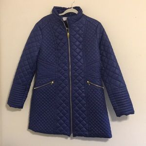 VIA SPIGA | Blue bubble coat